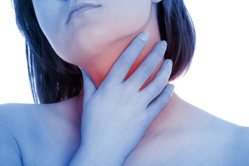 Inflamación de garganta