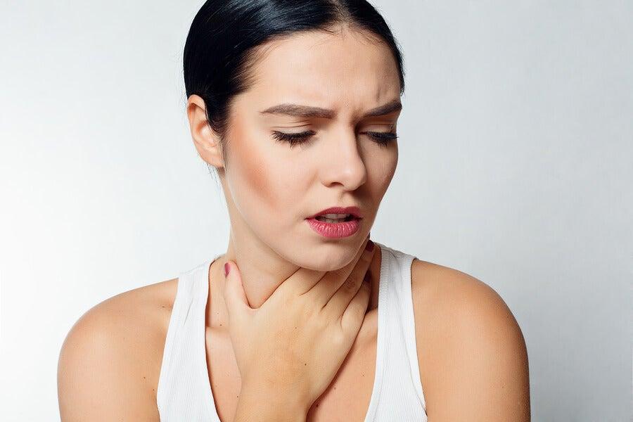 Ten cuidado con tu dolor de garganta
