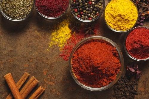 Existen varios tipos de curry.