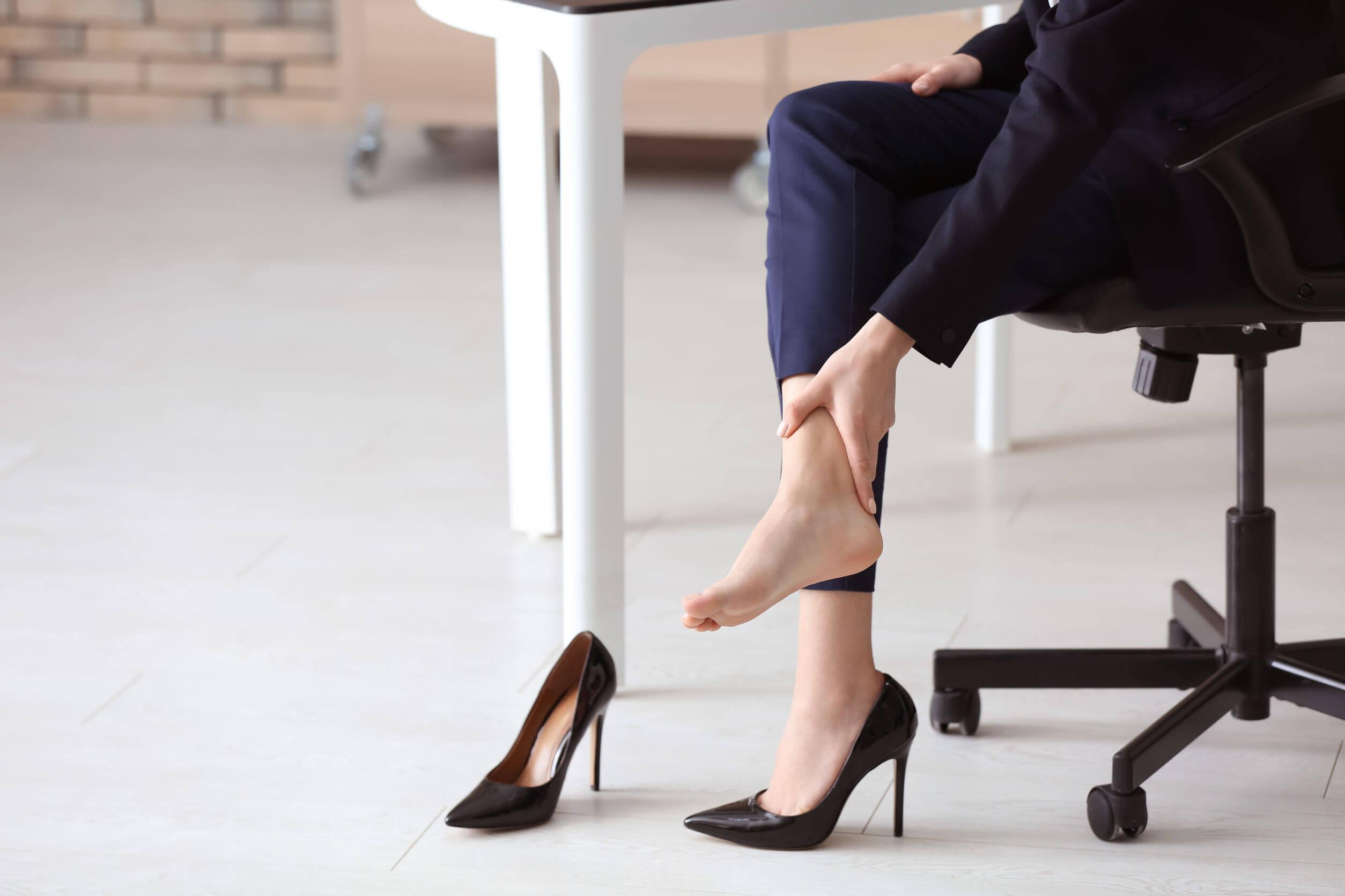 Un masaje en los pies suele aliviar la tensión.
