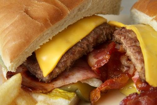 ¿Sabes de qué están hechas las hamburguesas de los locales de comida rápida?