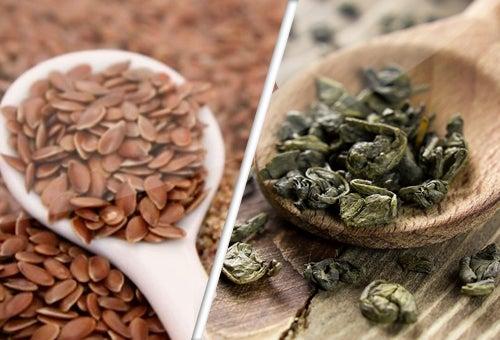 Semillas de lino y té verde, aliados contra el cáncer