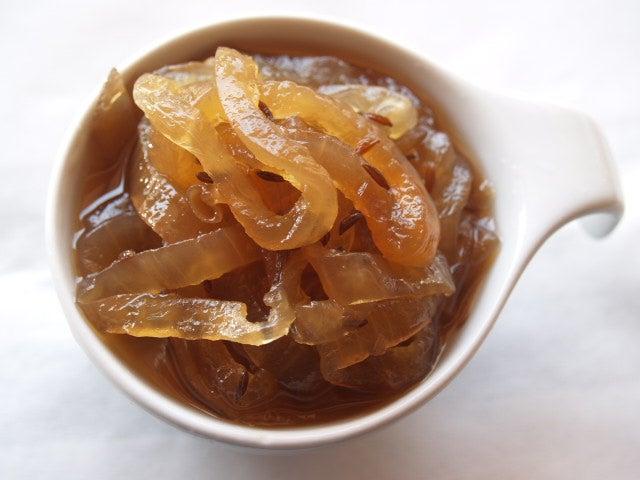 Receta de la mermelada de cebolla