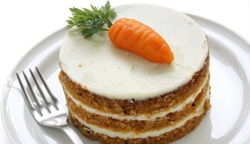 tarta zanahoria y jengibre