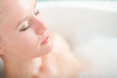 Baño relajante para dormir bien