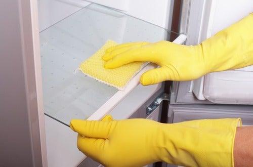 Limpieza de nevera