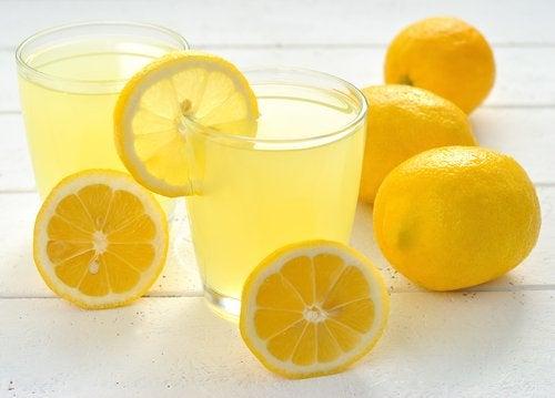 Alivio picadura de insecto limón