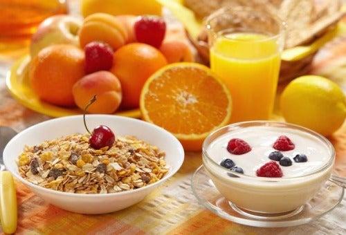 petit-dejeuner sain