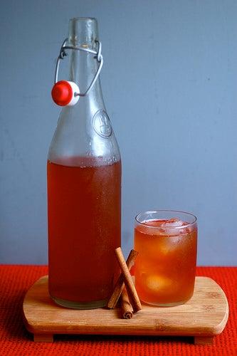 bebida canela sweetbeetandgreenbean