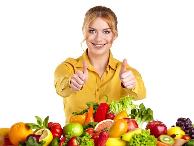 mascarilla vegetales y frutas