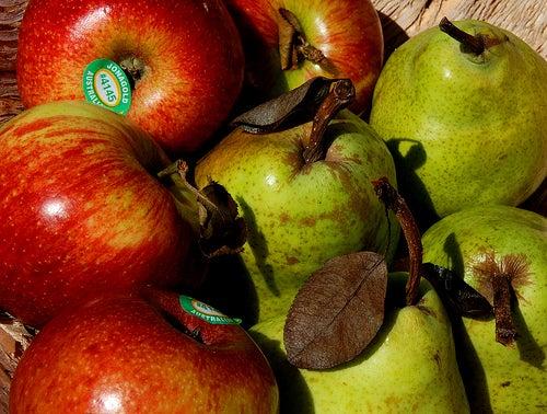 Peras y manzanas para mejorar la gastritis