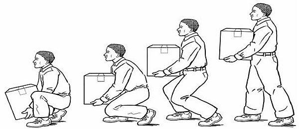 Personas levantando peso.