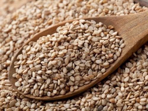Semillas de sésamo: aceites para nuestro cabello.