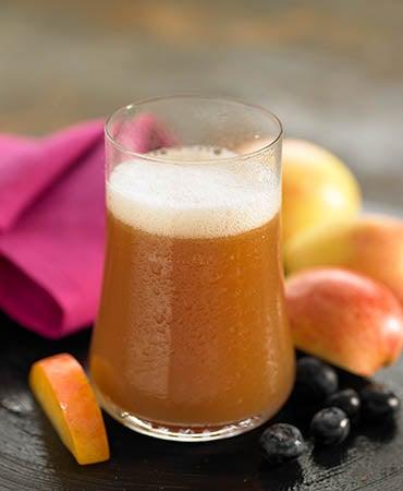 zumo de arandano smanzana y ciruelas para desinflamar