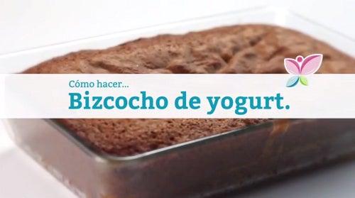 Cómo hacer un bizcocho de yogurt