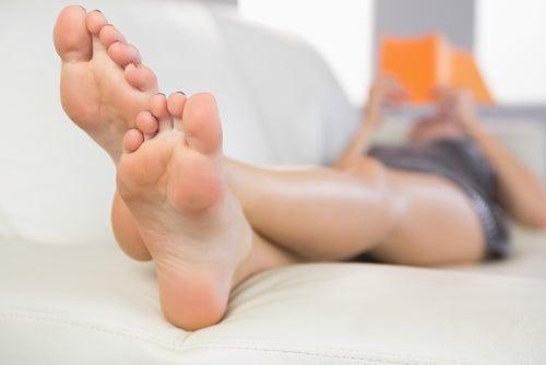 Transpiracion pies