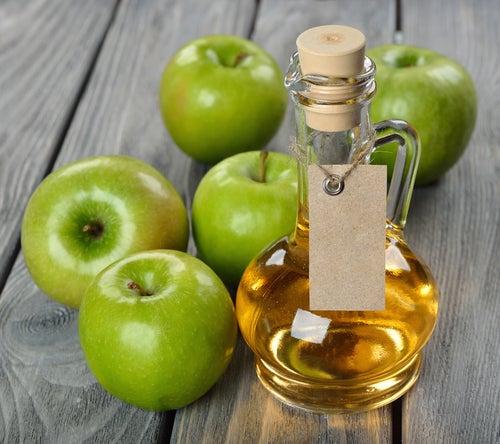 El vinagre de manzana ayuda a descongestionar los senos paranasales