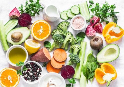 Alimentos y nutrientes con un alto poder cicatrizante natural