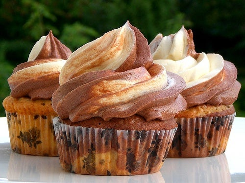 muffins con crema