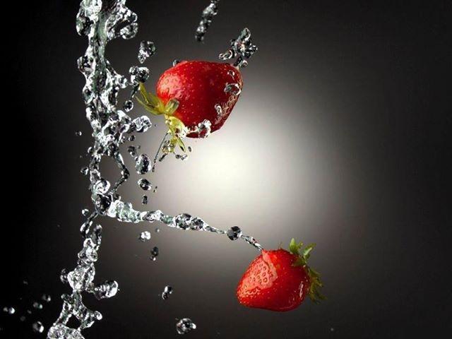 Las fresas son ricas en antioxidantes y fibra.