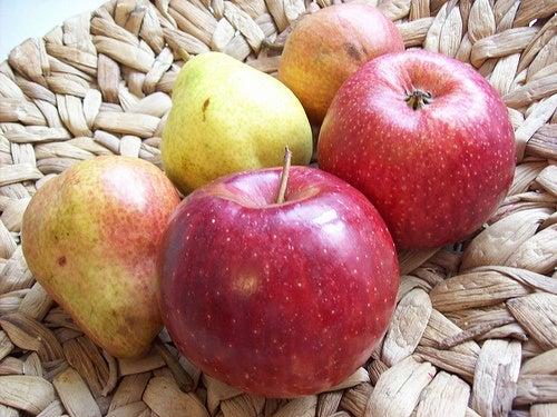 Manzanas rojas.