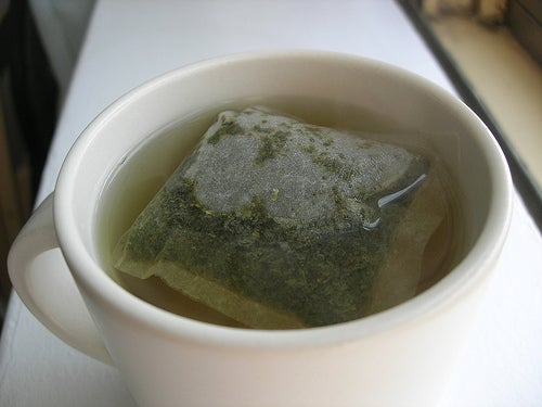té verde para limpieza del hígado