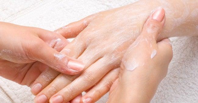 masaje manos