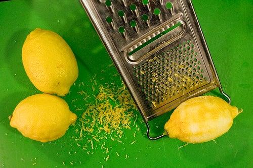 cáscara de limón