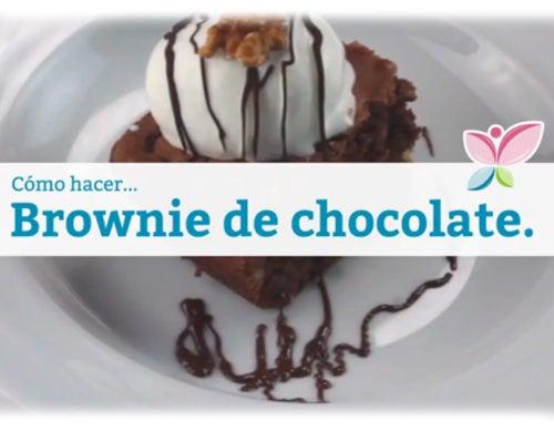 Cómo hacer un brownie de chocolate