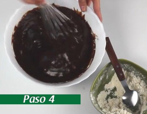 Paso - 4 Brownie
