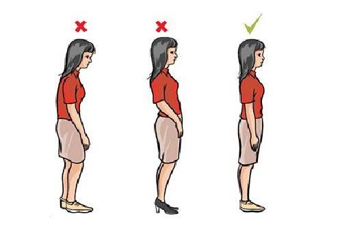 Cómo corregir la postura