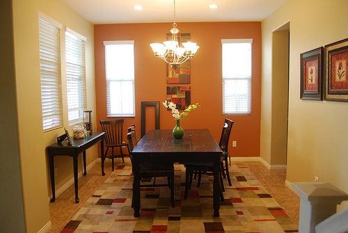 colores para la casa: comedor