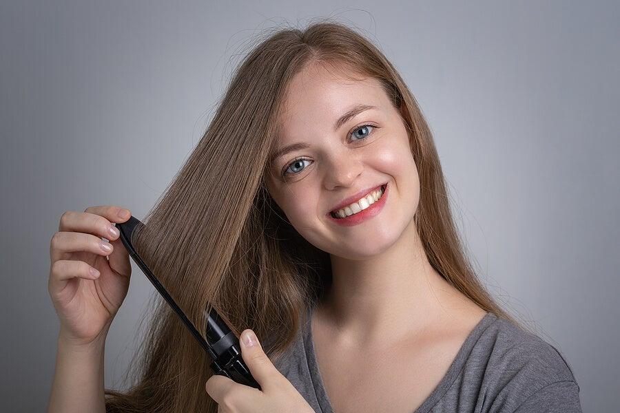 Consejos para planchar el pelo