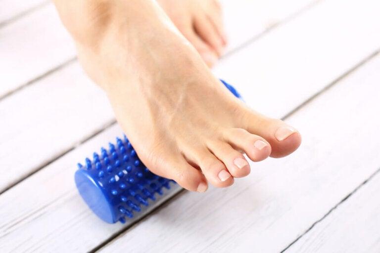 Ejercicios para relajar los pies
