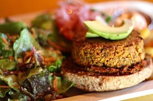 Recetas sencillas de hamburguesas vegetales