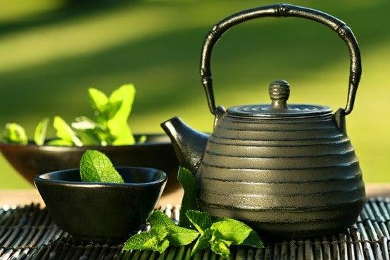 té verde japonés.