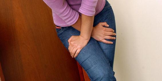 Mujer con infección urinaria