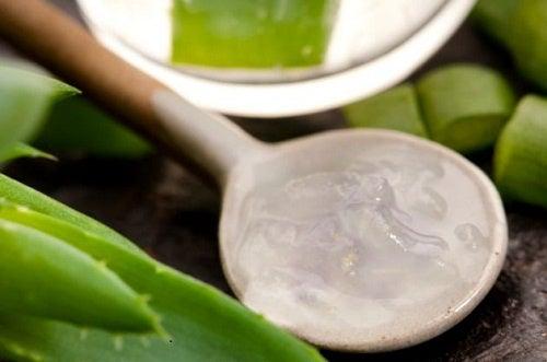Mascarilla casera para varices de aloe vera y vinagre de manzana