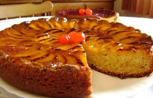 Receta del bizcocho de manzana