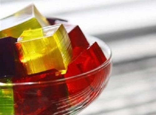 receta con gelatina