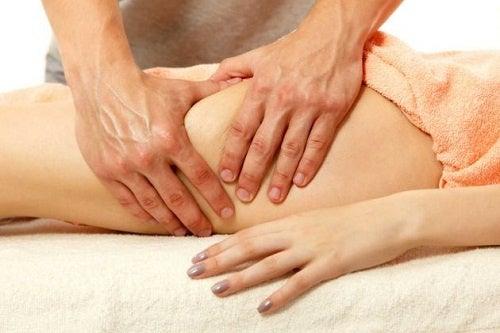 Masajes reductores para las piernas