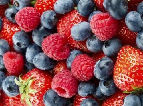 Las bayas son frutas que te ayudan a adelgazar