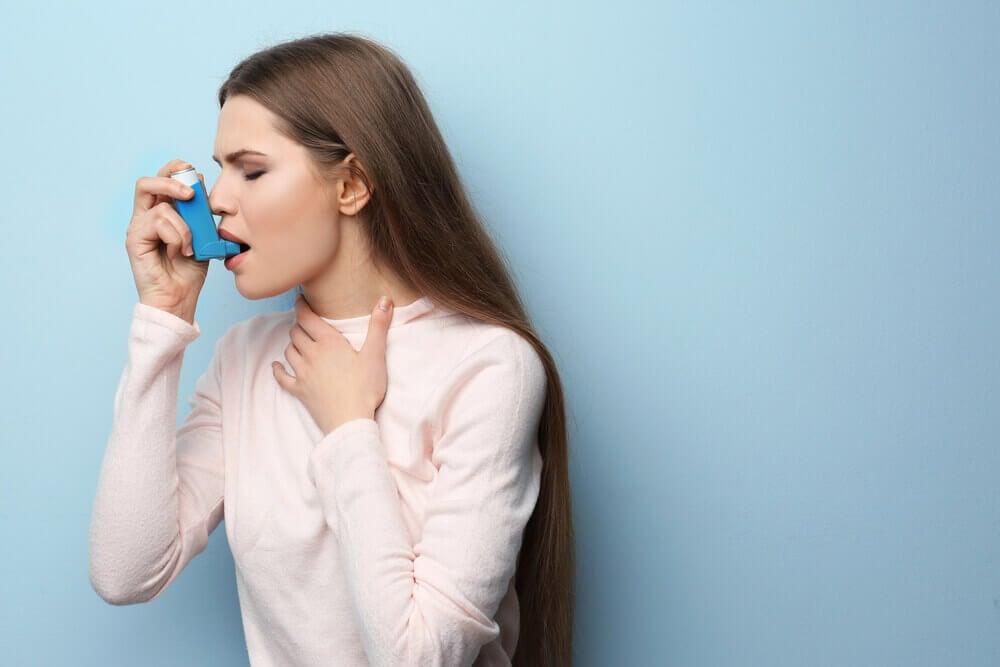Hierbas medicinales para el asma.