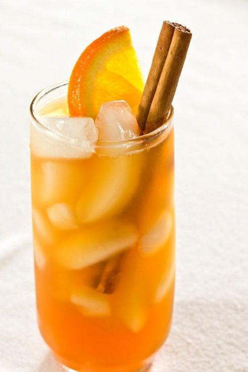 Té de naranja amarga y canela