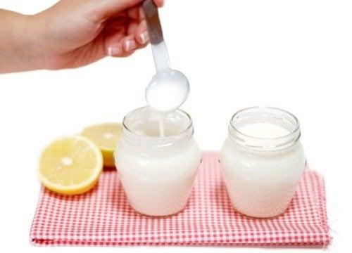 Yogur fermentado casero