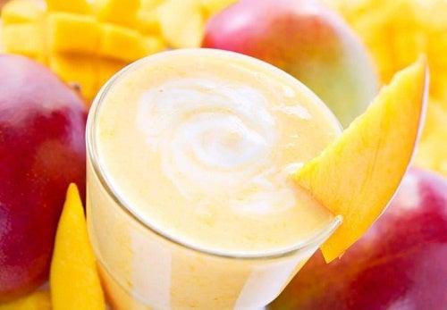 Batidos con mango: 2 recetas riquísimas