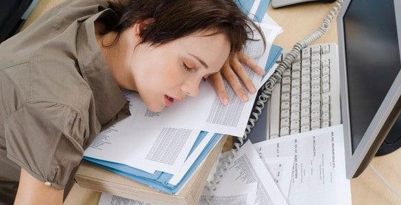 Sufrir fatiga todo el día