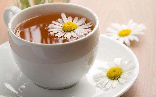 La manzanilla estimula la producción de hormonas y mejora la función del hipotálamo