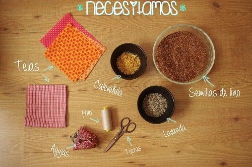 Cómo hacer una almohada terapéutica con semillas – Mejor con Salud