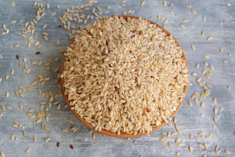 Los beneficios del arroz integral